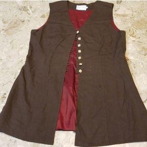 Misty Lane Vest Size 12